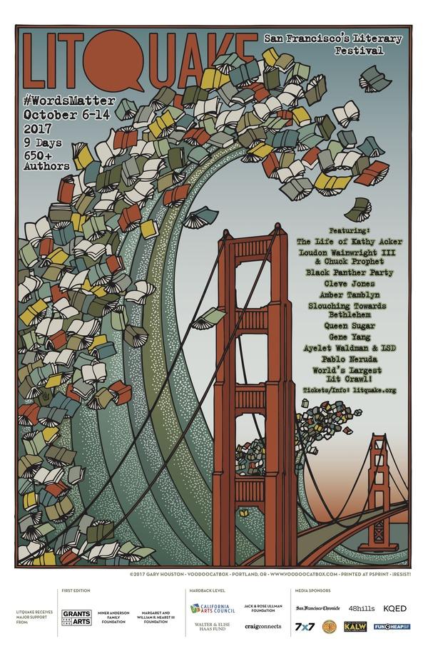 Litquake 2017 Poster